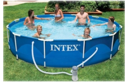 Бассейн каркасный Intex Metal Frame Pool 28218